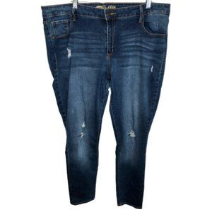 Old Navy The Rockstar Distressed Skinny Jeans